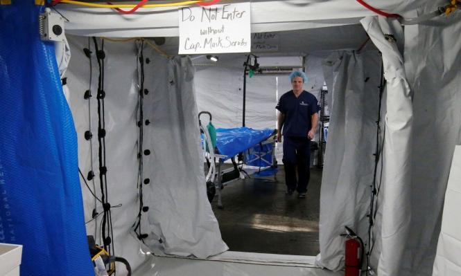 افتتاح مستشفى ميداني مجهز في الموصل