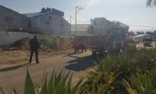حيفا: سقوط عامل عن علو ونقله للمشفى