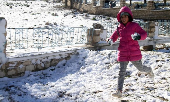 عاصفة ثلجية تضرب تونس