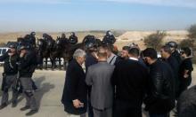 الشرطة تمنع النواب العرب من دخول أم الحيران