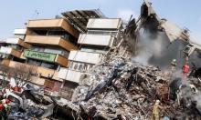 مقتل 20 رجل إطفاء في انهيار مبنى بطهران
