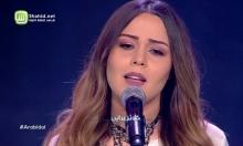 """وائل كفوري يغازل كوثر البراني على مسرح """"عرب آيدول"""""""