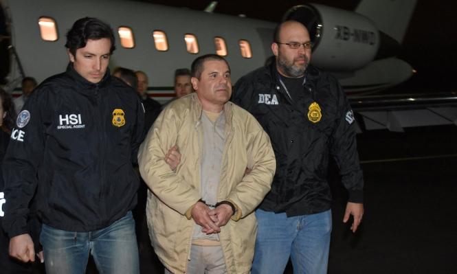 """المكسيك تسلم مهرب المخدرات """"إل تشابو"""" للولايات المتحدة"""