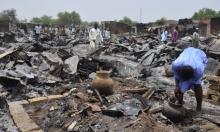 236 قتيلا جراء قصف مخيم للنازحين في نيجيريا