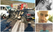مصرع 4 أشخاص من الجليل بحادث طرق قرب المغار