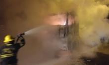 إصابات في حادث قرب مجد الكروم واحتراق شاحنة قرب حيفا