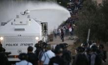 المياه العادمة لتفريق المتظاهرين