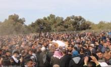 المشتركة بعد دفن الشهيد: سلوك الشرطة إجرامي
