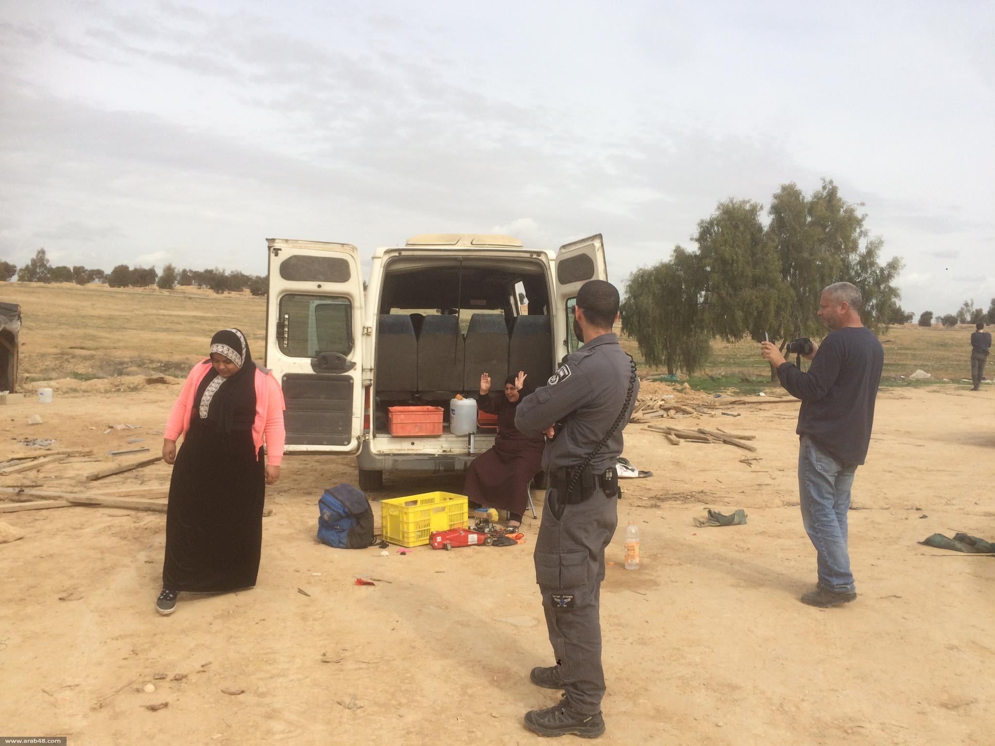 استفزازات وأوامر هدم جديدة في عدة قرى بالنقب