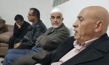 وفد من التجمع يهنئ الشيخ صلاح بتحرره