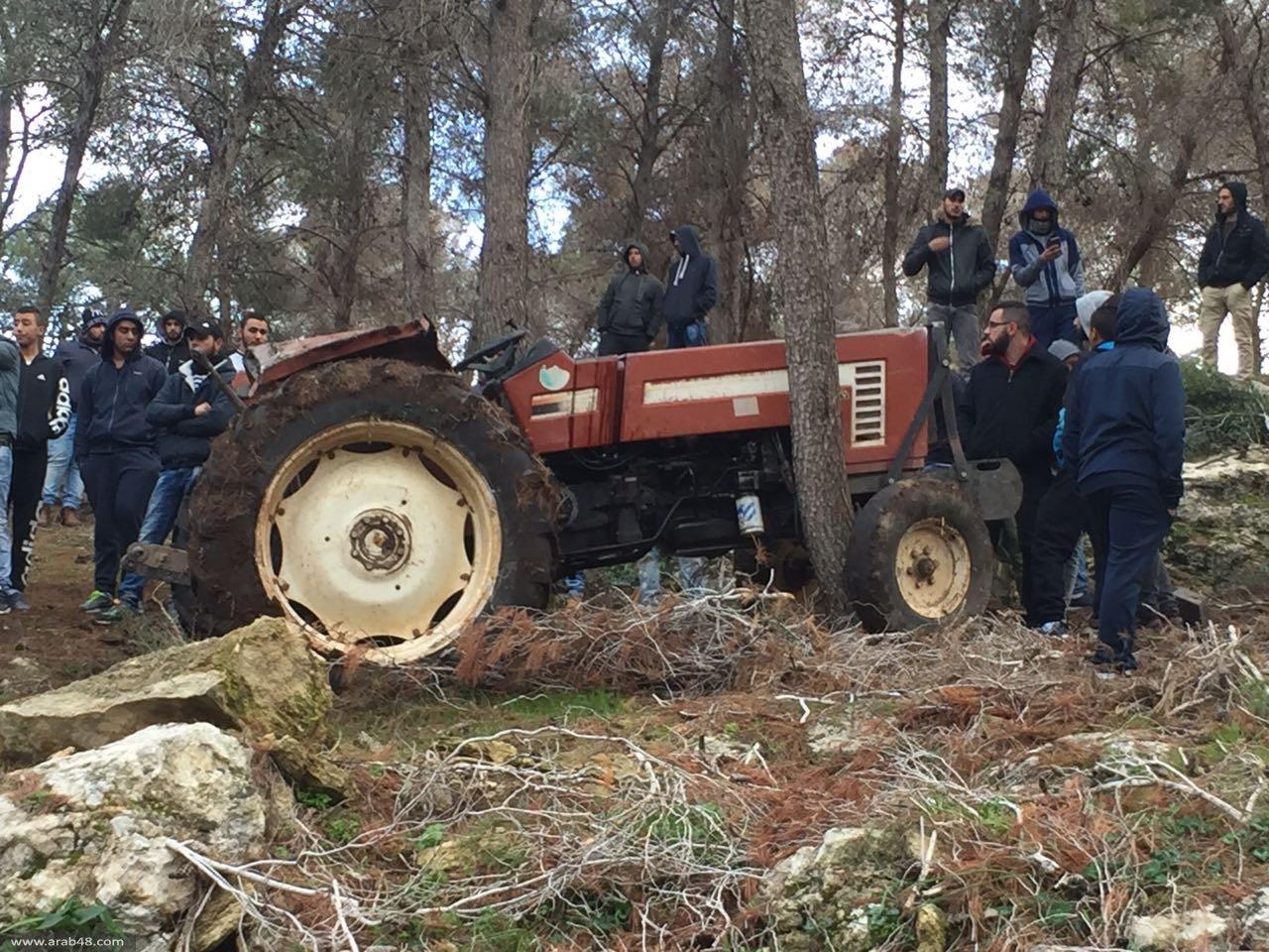 كفركنا: مصرع محمد بركات إثر انقلاب جرار زراعي