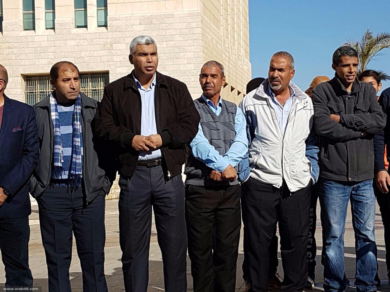 النقب: تظاهرة احتجاجية ضد سياسة الترحيل