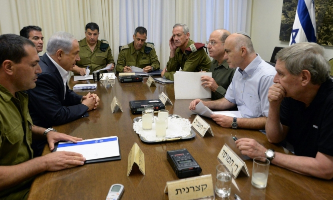 """نشر بروتوكولات """"الكابينيت"""" خلال الحرب على غزة"""