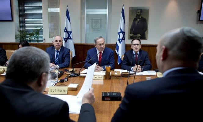 """نتنياهو: غدا سيطرح قانون """"التسوية"""" للتصويت بالكنيست"""