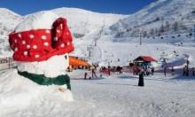 إغلاق جبل الشيخ أمام الزوار بسبب تساقط الثلوج