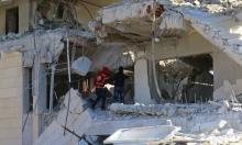 قصف مركز للهلال الأحمر السوري بإدلب