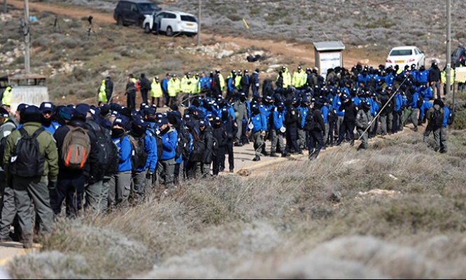 """إخلاء """"عمونا"""": تعاطف مع المستوطنين وتعهدات بإحلال السيادة على الضفة"""