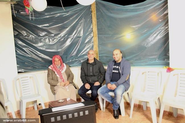 سخنين: فتحي غنّامة يعانق الحرية بعد 30 عامًا بالسجن
