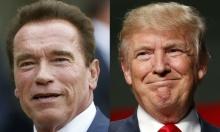 """حرب شوارزنيجر- ترامب: """"اترك لي الرئاسة لينام الناس بارتياح"""""""