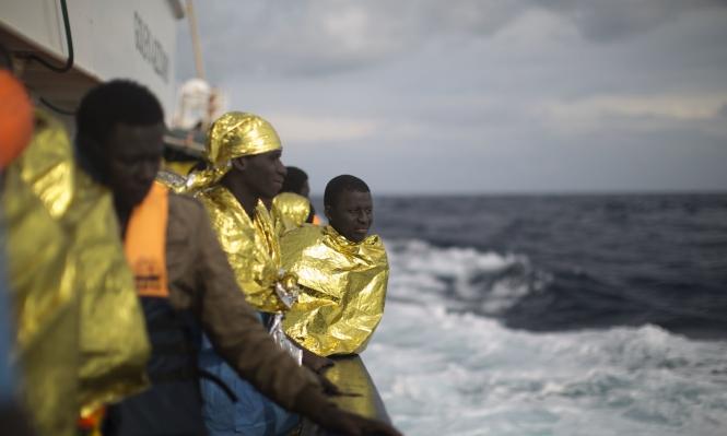 إنقاذ أكثر من 1400 مهاجر قبالة شواطئ ليبيا