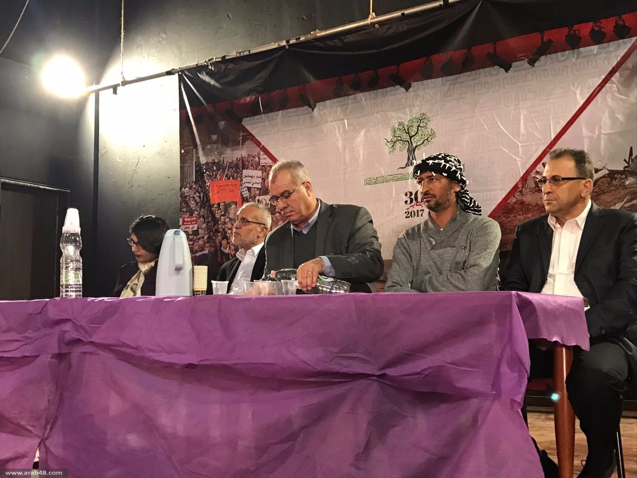 """المتابعة تنظم مهرجان """"يوم الدعم العالمي لحقوق جماهيرنا العربية"""""""