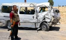 مصرع 9 أشخاص وإصابة 44 بحادث سير بمصر