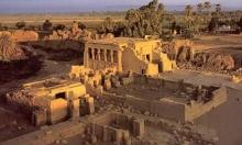 تعامد أشعة الشمس على مقصورة الولادة بمعبد دندرة الفرعوني