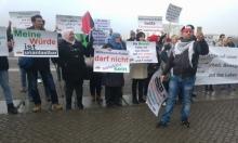 فلسطينيون يعتصمون في برلين للمطالبة بحقوقهم