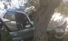 إصابة شابة في حادث سير قرب سخنين