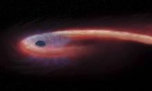 """اكتشاف ثقب أسود """"يبتلع"""" نجما منذ 11 عاما"""