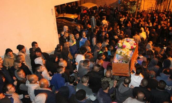 أم الفحم: تشيع جثمان المغدور محمود جبارين