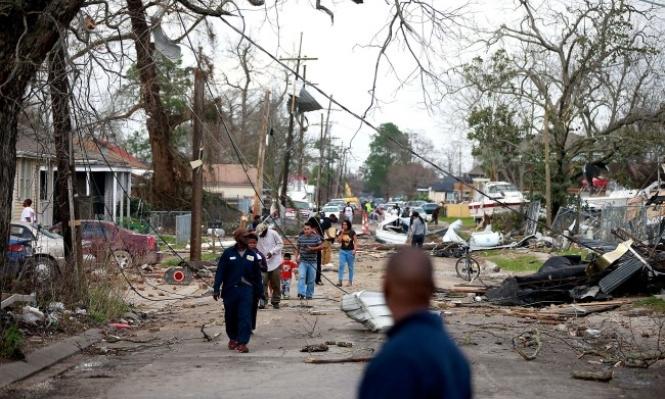 نيو أورليانز: إصابات وأضرار في إصار مدمر