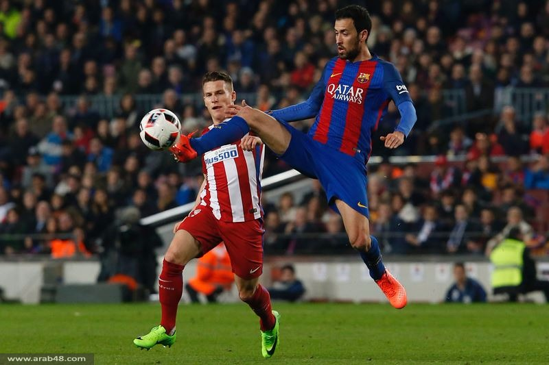 برشلونة وأتلتيكو مدريد: تعادل مثير وطرد 3 لاعبين