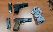 اللد: اعتقال مشتبهين وضبط مسدسين