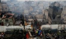 15 ألف مشرد جراء حريق بحي سكني بالعاصمة الفلبينية