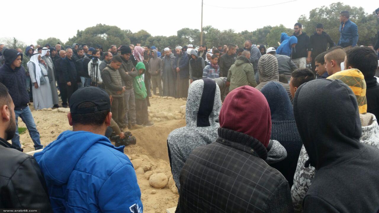 وفاة والد الشهيد يعقوب أبو القيعان