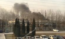 """احتراق مصنع لـ""""سامسونج"""" بسبب انفجار بطاريات"""