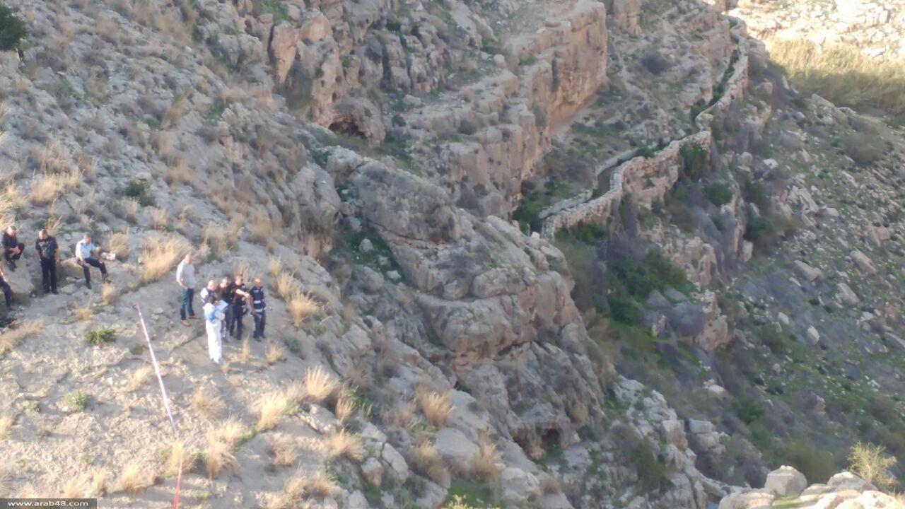 العثور على جثة في وادي القلط