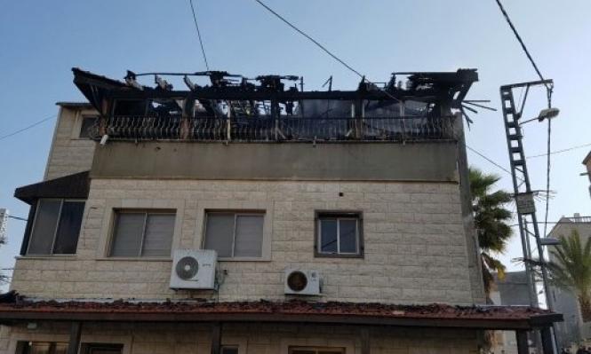أضرار جسيمة جراء حريق بمنزل في سخنين