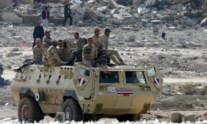 مقتل 13 مسلحا بنيران الجيش المصري في سيناء