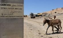 إخطارات بوقف البناء بمنشآت فلسطينية بالأغوار