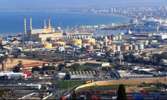 أمر قضائي بإخلاء خزان الأمونيا في حيفا