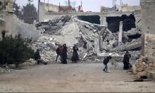 منظمة حقوقية: النظام استخدم أسلحة كيماوية في معارك حلب