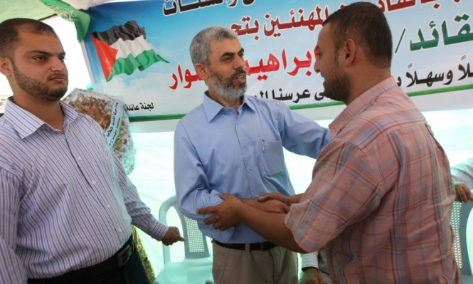 حماس تنتخب السنوار مسؤولا لها بغزة والحية نائبا له