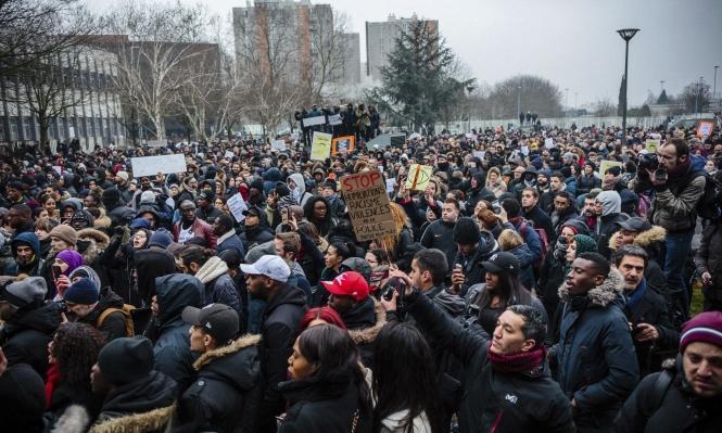 توقيف 58 شخصا باحتجاجات منددة بعنف الشرطة الفرنسية