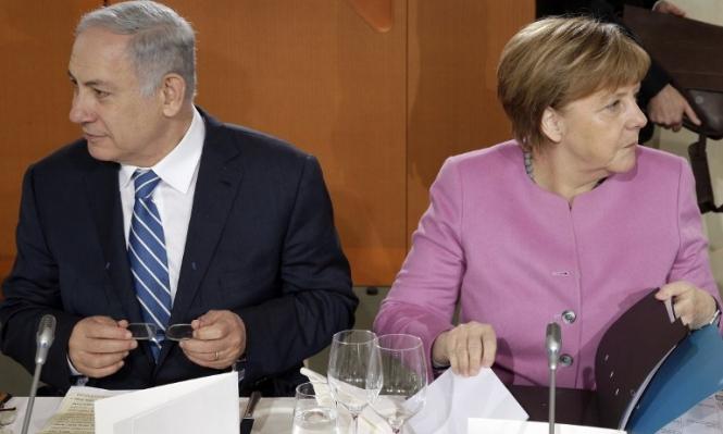 ميركل تلغي لقاء مع الحكومة الإسرائيلية بسبب قانون التسوية