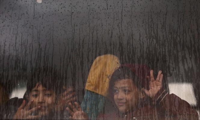 حالة الطقس: أجواء ماطرة وباردة