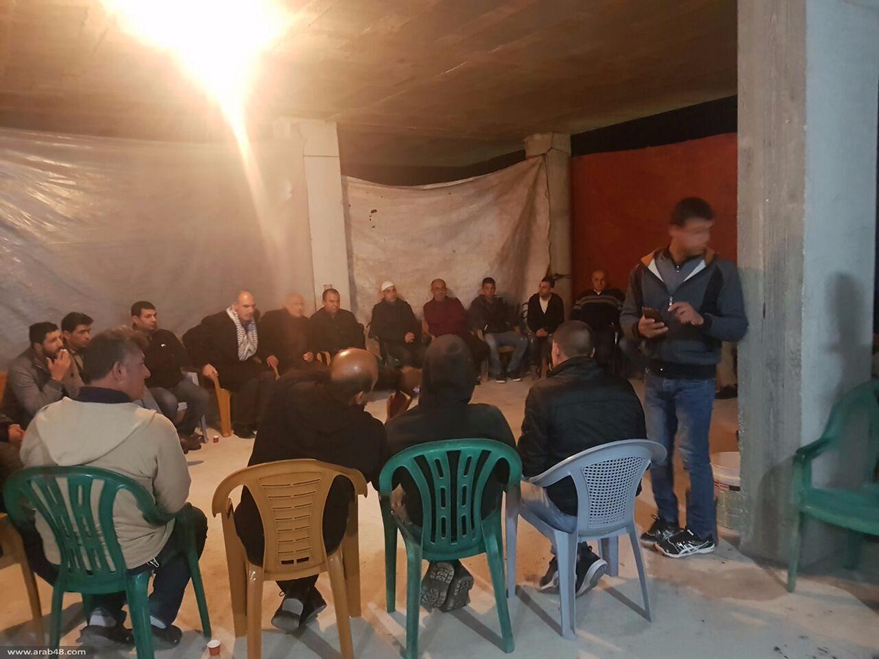 عرعرة: اللجنة الشعبية تدعو للتضامن مع أصحاب البيوت المهددة