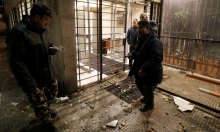 """أنصار """"أمل"""" يهاجمون مبنى قناة """"الجديد"""""""