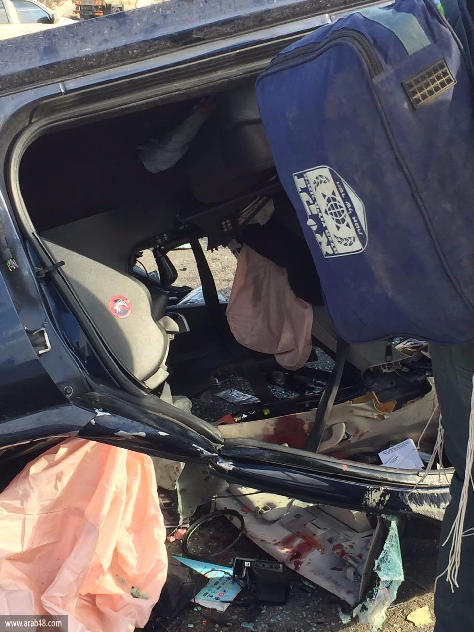 3 قتلى وإصابات في حادث طرق بالنقب